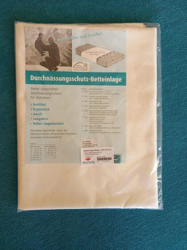 Chránič matrace - nepropustný - počesaná bavlna 150x90 Büttner Frank - NSR