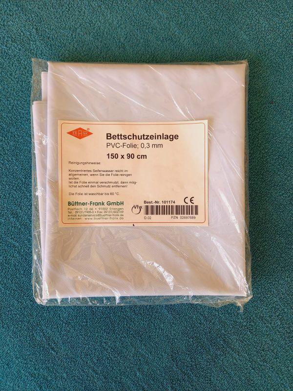 Nepropustný chránič matrace - PVC folie - 150x90 cm Büttner Frank - NSR